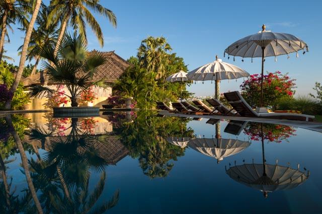 Orlando Stamm owner of Palm Garden Amed Beach & Spa Resort Bali